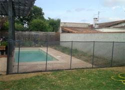 Photos du filet de piscine la beethoven s curit enfant - Filet piscine beethoven ...